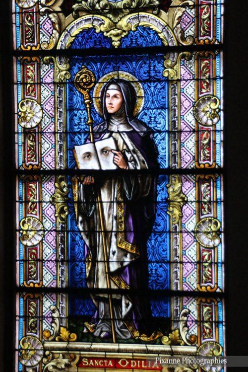 France, Alsace, Chatenois, Eglise Saint Georges, Sainte Odile, Alsace et Moi, Pixanne Photographies