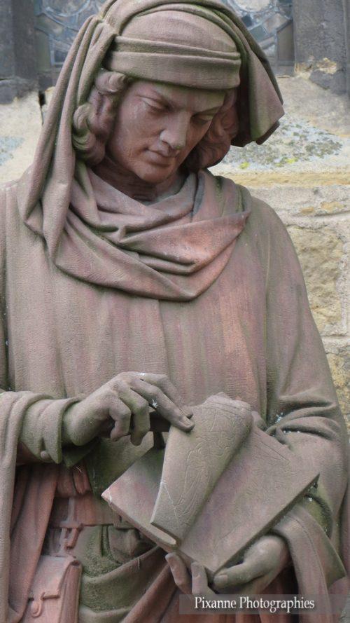 France, Alsace, Colmar, Bartholdi, Statue Martin Schongauer, Alsace et Moi, Pixanne Photographies