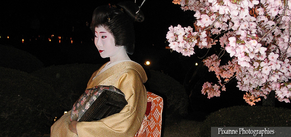 Asie, Japon, Kyoto, Nijo Jo, Geisha, Souvenirs de Voyages, Pixanne Photographies