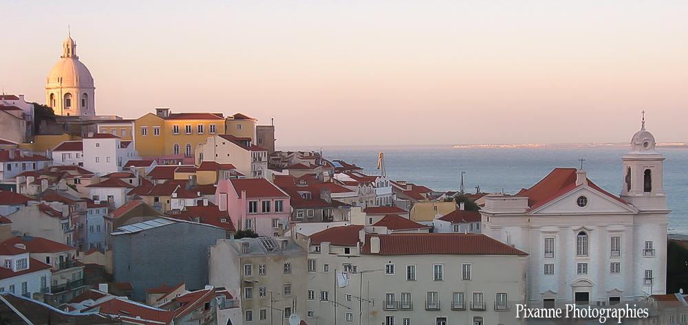 Europe, Portugal, lisbonne, miradouro santa luzia, souvenirs de voyages, pixanne photographies