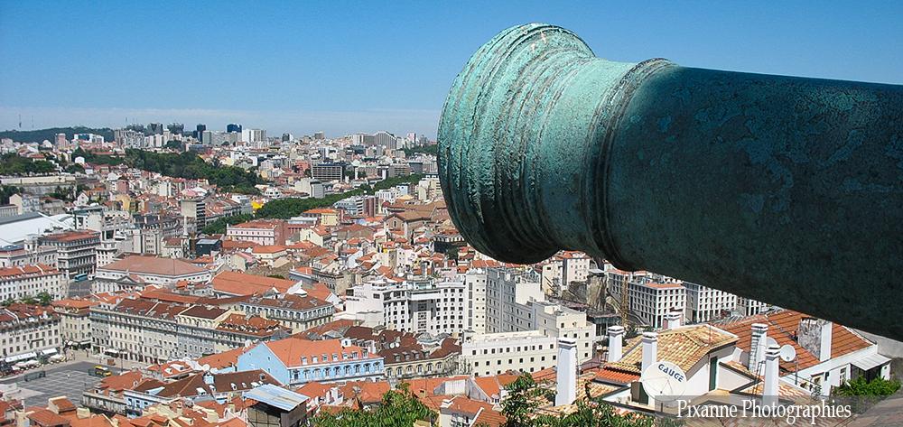 Europe, Portugal, Lisbonne, Château Saint Georges, Castelo Sao Jorge, Souvenirs de Voyages, Pixanne Photographies