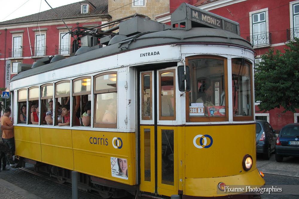 Europe, Portugal, Lisbonne, Electrico 28, Alfama, Souvenirs de Voyages, Pixanne Photographies