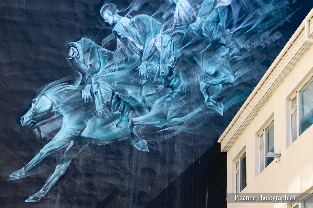 Europe, Islande, Iceland, Reykjavik, Laugavegur, Tags, Graffs, Souvenirs de Voyages, Pixanne Photographies
