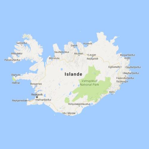 Europe, Islande, Iceland, carte, Pixanne Photographies, Souvenirs de Voyages