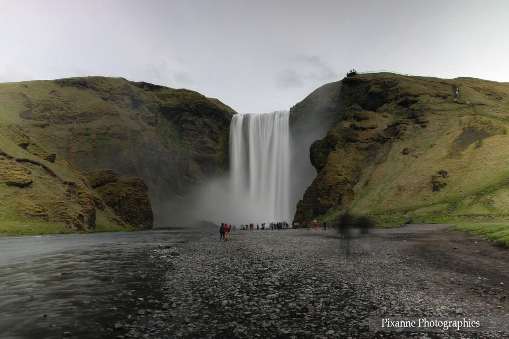Europe, Islande, Islande du Sud, Skógafoss, Souvenirs de Voyages, Pixanne Photographies
