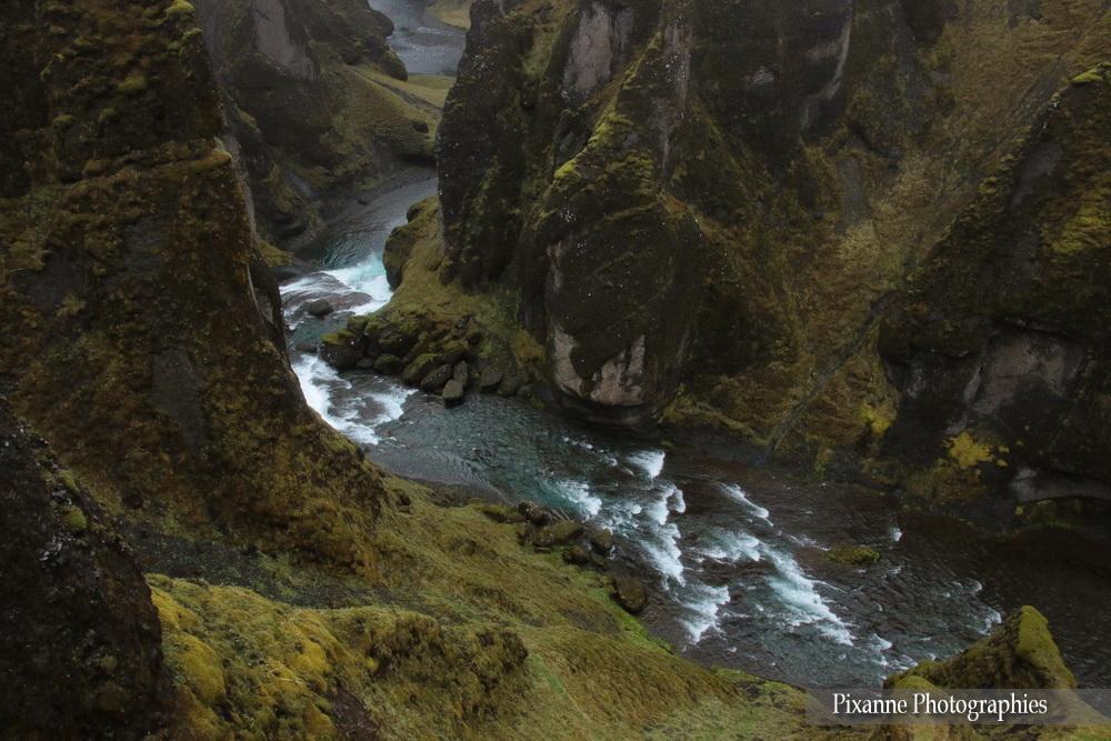 Europe,Islande, Canyon de Fjadrargljufur,Fjaðrárgljúfur,Souvenirs de Voyages, Pixanne Photographies