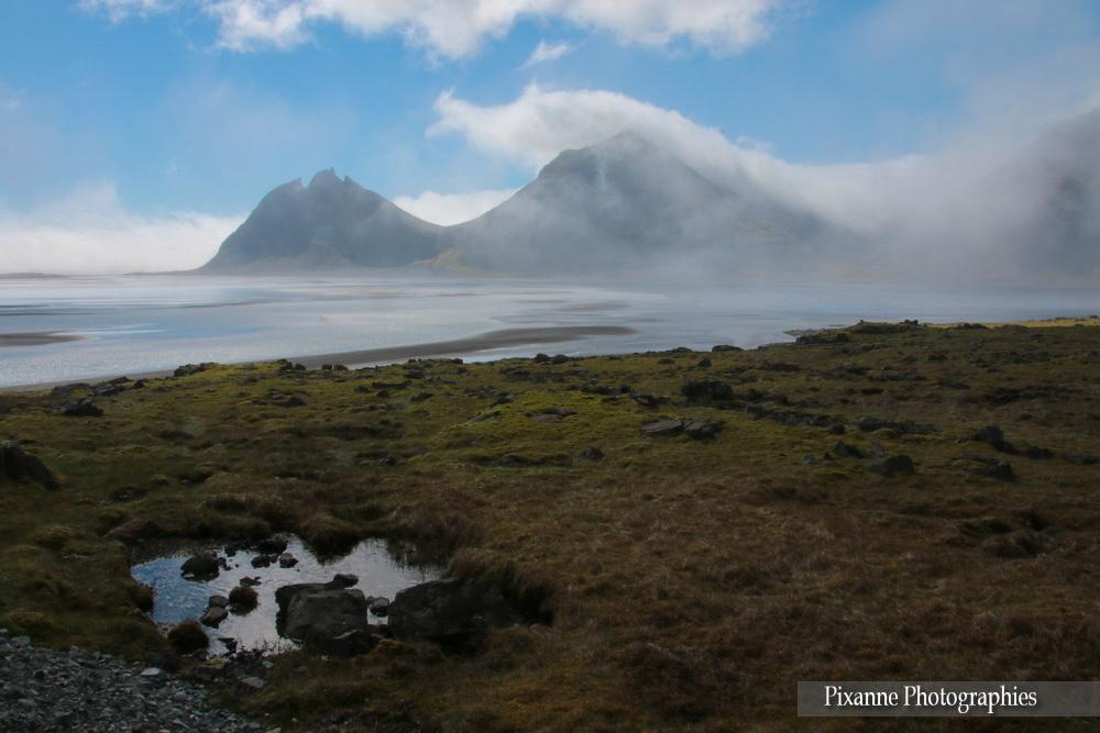 Europe, Islande, Vesturhorn, Battmann mountain, Souvenirs de Voyages, Pixanne Photographies