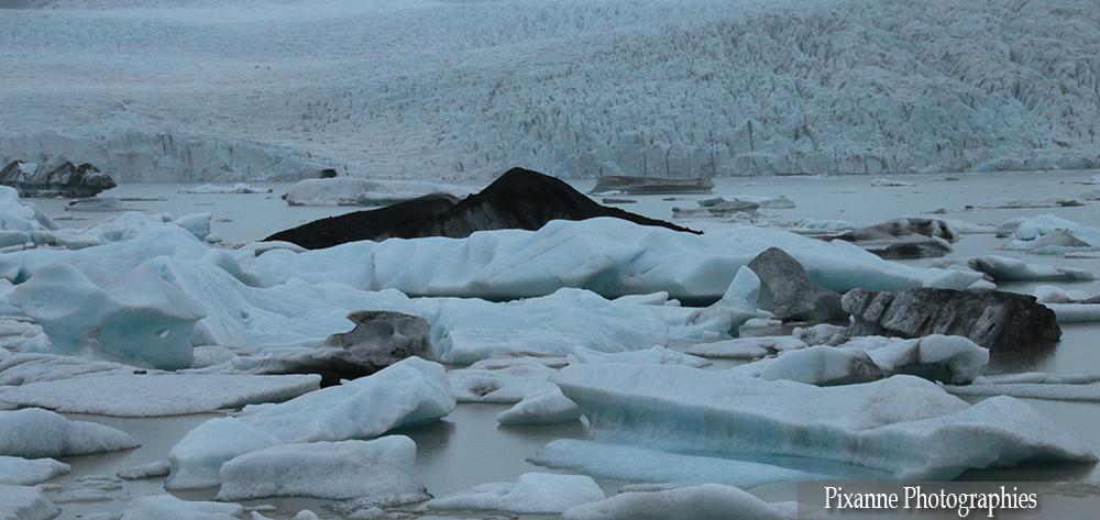 Europe, Islande, Fjallsárlón, Fjallsarlon, Fjallsjökull, Fjallsjokull, Souvenires de Voyages, Pixanne Photographies