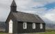 Europe, Islande, péninsule de Snaefellsnes, Budir, Búðir, Eglise, Souvenirs de Voyages, Pixanne Photographies