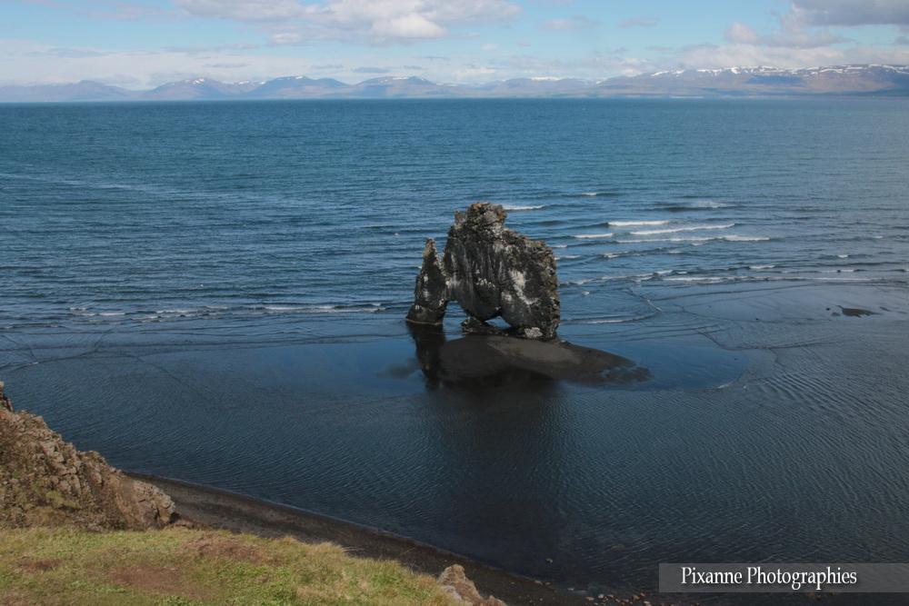 Europe, Islande, péninsule de Vatnsnes, Hvítserkur, Souvenirs de Voyages, Pixanne Photographies