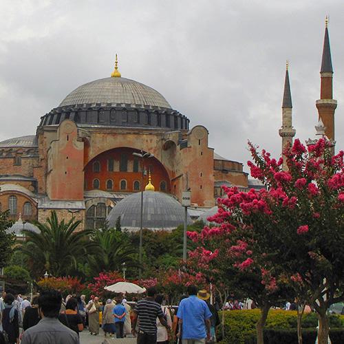 Asie, Turquie, Istanbul, Basilique Sainte Sophie, Souvenirs de Voyages, Pixanne Photographies