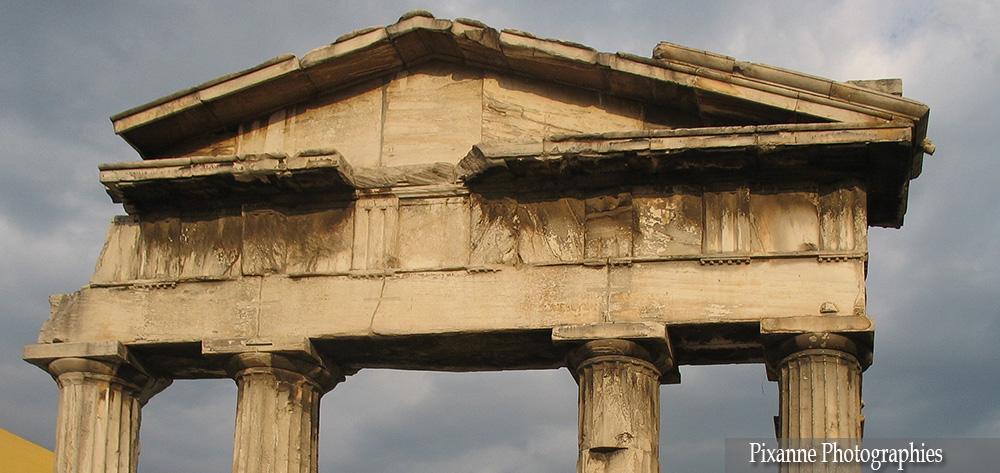 Europe, Grèce, Attique, Athènes, Agora Romaine, Souvenirs de Voyages, Pixanne Photographies