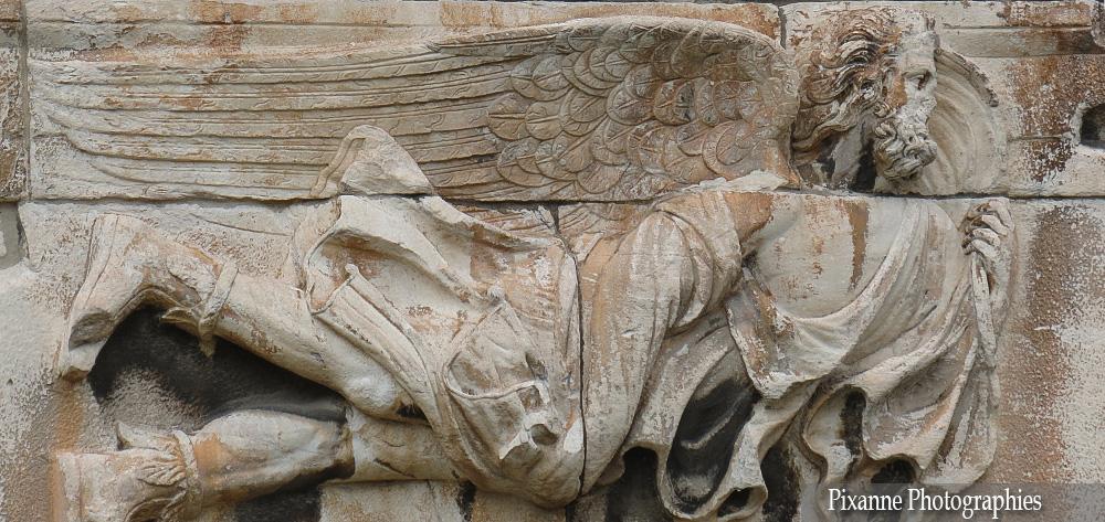 Europe, Grèce, Attique, Athènes, Agora Romaine, Tour des Vents, Souvenirs de Voyages, Pixanne Photographies