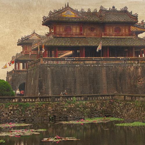 Asie, Vietnam, Hué, Citadelle, Palais Impérial, Souvenirs de Voyages, Pixanne Photographies