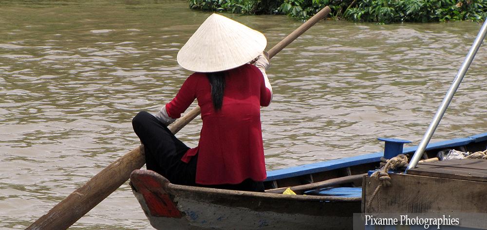 Asie, Vietnam, Delta du Mékong, Souvenirs de Voyages, Pixanne Photographies