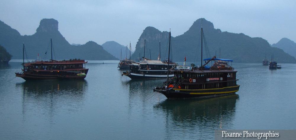 Asie, Vietnam, Baie d'Halong, Souvenirs de Voyages, Pixanne Photographies