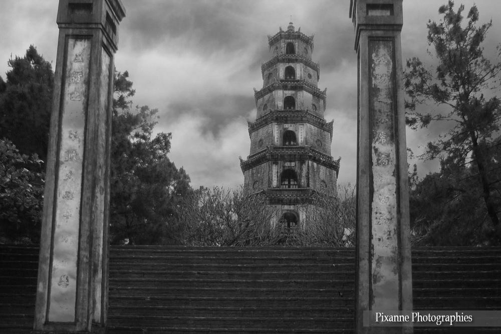 Asie, Vietnam, Hué, Pagode Thien Mu, Pagode de la Dame Céleste, Souvenirs de Voyages, Pixanne Photographies