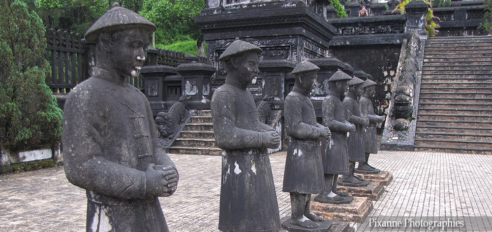 Asie, Vietnam, Hué, Tombeau de Khai Dhin, Souvenirs de Voyages, Pixanne Photographies