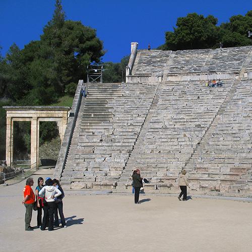 Europe, Grèce, Péloponnèse, Epidaure, Souvenirs de Voyages, Pixanne Photographies