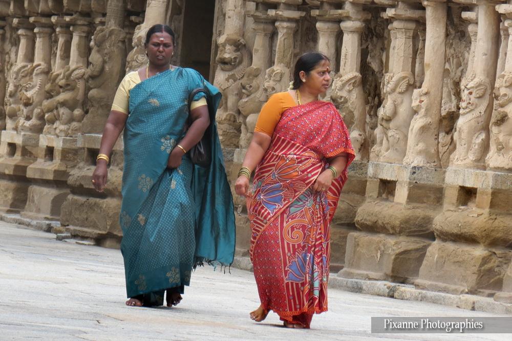 Asie, Inde du Sud, Tamil Nadu, kanchipuram, Kailasanathar Temple, Souvenirs de Voyages, Pixanne Photographies