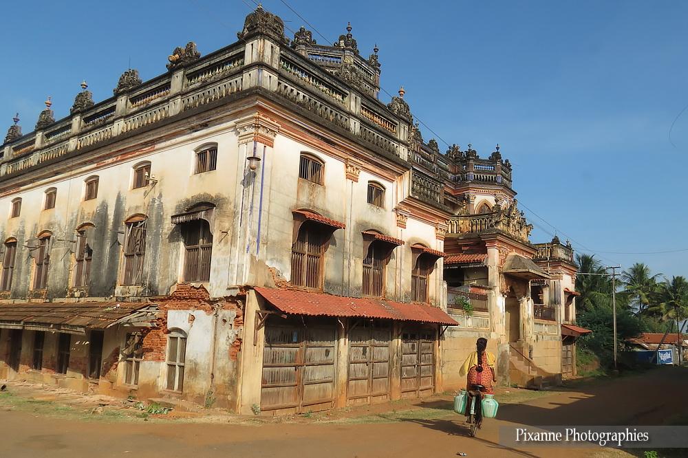 Asie, Inde du Sud, Tamil Nadu, Chettinad, Kanadukathan, Palais, Souvenirs de Voyages, Pixanne Photographies
