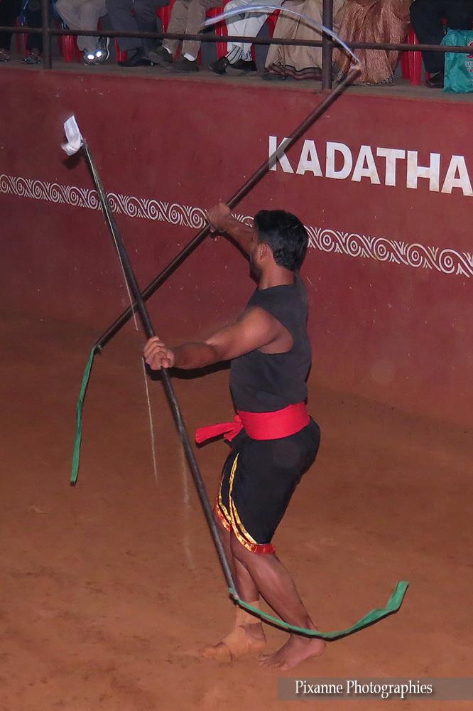 Asie, Inde du Sud, Tamil Nadu, Thekkady, Kadathanadan Kalari Center, Kalaripayattu, Souvenirs de Voyages, Pixanne Photographies