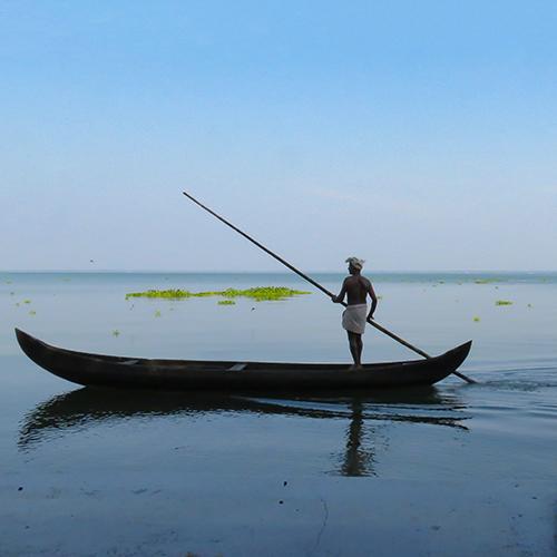 Asie, Inde du Sud, Kerala, Lac Vembanad, Souvenirs de Voyages, Pixanne Photographies