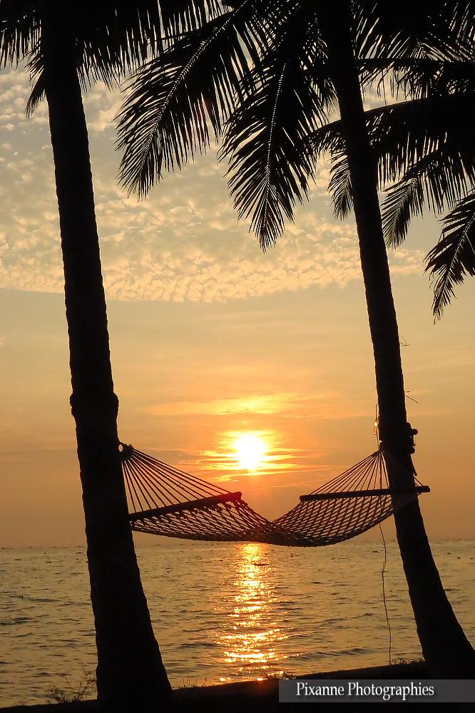 Asie, Inde du Sud, Kerala, Lac Vembanad, Coucher de soleil, Souvenirs de Voyages, Pixanne Photographies