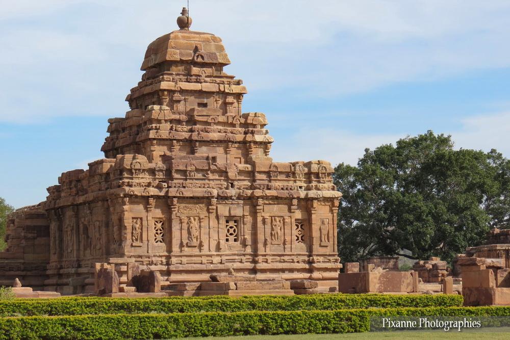 Asie, Inde du Sud, Karnataka, Pattadakal, Complexe sacré, Sangameshvara Temple, Souvenirs de Voyages, Pixanne Photographies