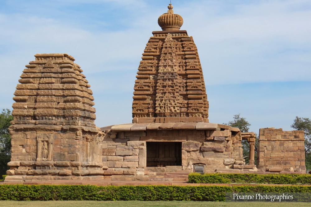 Asie, Inde du Sud, Karnataka, Pattadakal, Complexe sacré, Kadasiddhesvara temple,  Galaganatha Temple, Souvenirs de Voyages, Pixanne Photographies