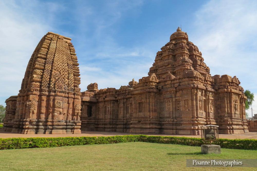 Asie, Inde du Sud, Karnataka, Pattadakal, Complexe sacré, Kashivishvanatha Temple, Mallikarjuna Temple, Souvenirs de Voyages, Pixanne Photographies