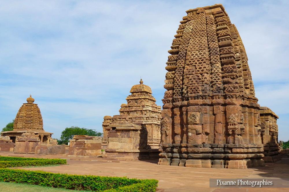 Asie, Inde du Sud, Karnataka, Pattadakal, Complexe sacré, Kashi Vishvanatha Temple, Souvenirs de Voyages, Pixanne Photographies