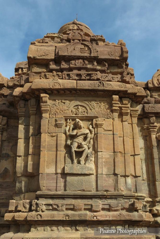 Asie, Inde du Sud, Karnataka, Pattadakal, Complexe sacré, Mallikarjuna Temple, Souvenirs de Voyages, Pixanne Photographies