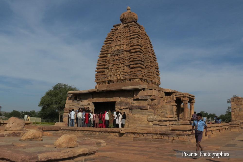 Asie, Inde du Sud, Karnataka, Pattadakal, Complexe sacré, Galaganatha Temple, Souvenirs de Voyages, Pixanne Photographies