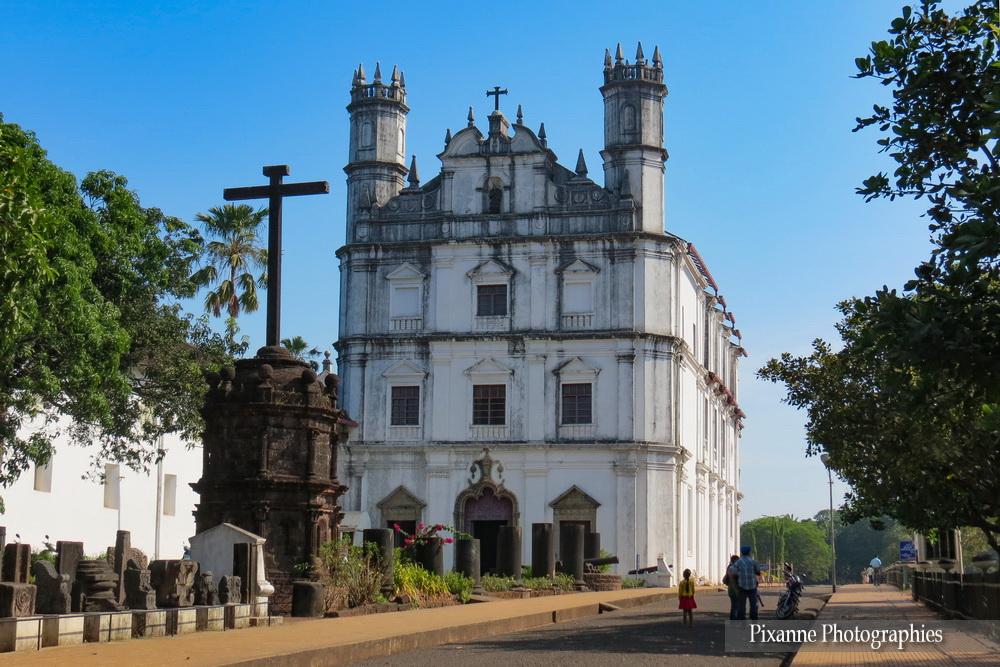 Asie, Inde du Sud, Karnataka, Goa, Eglise Saint François d'Assise, Souvenirs de Voyages, Pixanne Photographies