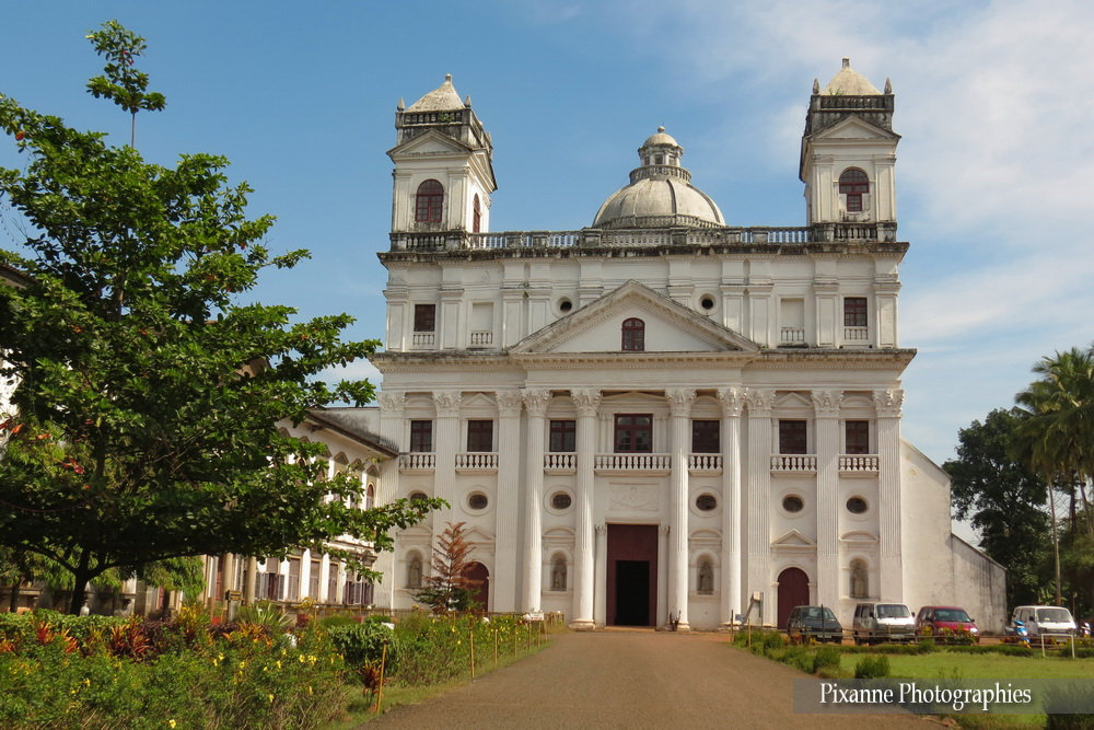 Asie, Inde du Sud, Karnataka, Goa, Eglise Saint Cajetan, Eglise Saint Gaetan, Souvenirs de Voyages, Pixanne Photographies