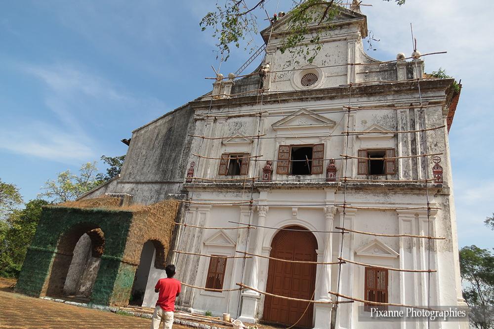 Asie, Inde du Sud, Karnataka, Goa, Eglise Notre Dame du Mont, Souvenirs de Voyages, Pixanne Photographies