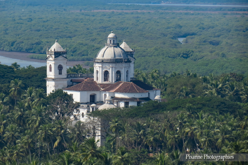 Asie, Inde du Sud, Karnataka, Goa, Eglise Notre Dame du Mont, Eglise Saint Cajetan, Eglise Saint Gaetan, Souvenirs de Voyages, Pixanne Photographies