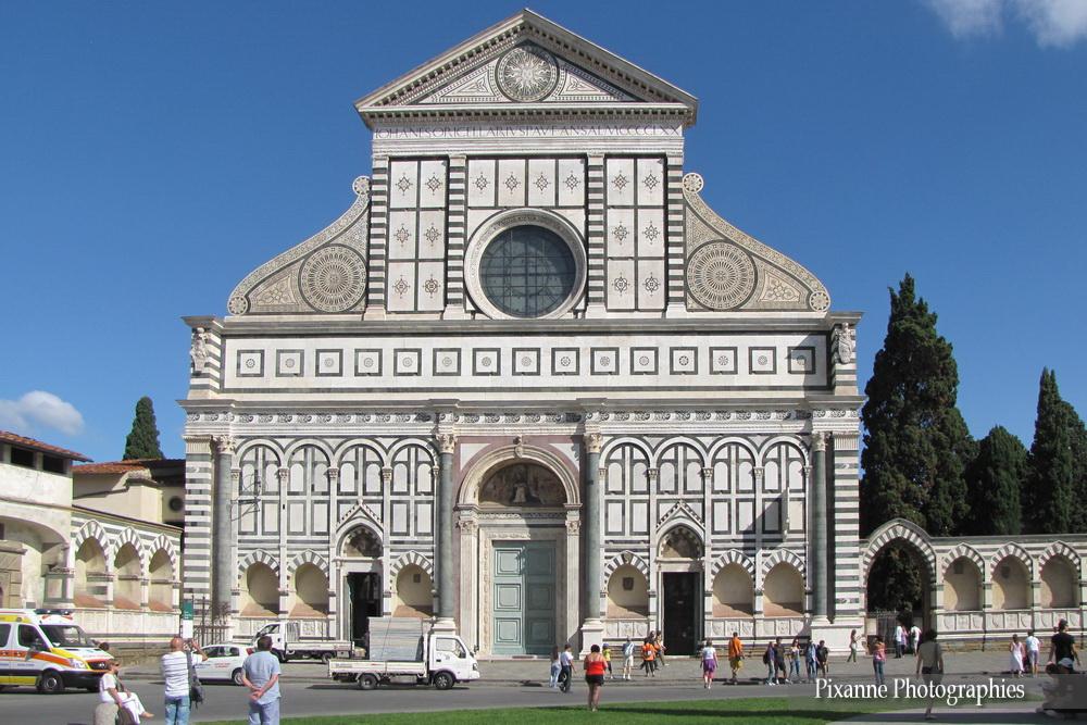 Europe, Italie, Florence, Basilique Santa Maria Novella, Souvenirs de Voyages, Pixanne Photographies