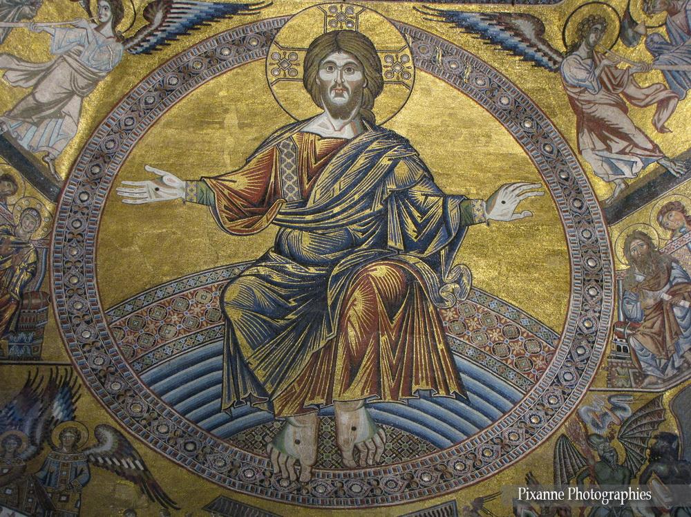 Europe, Italie, Florence, Baptistère Saint Jean, mosaïques, Souvenirs de Voyages, Pixanne Photographies