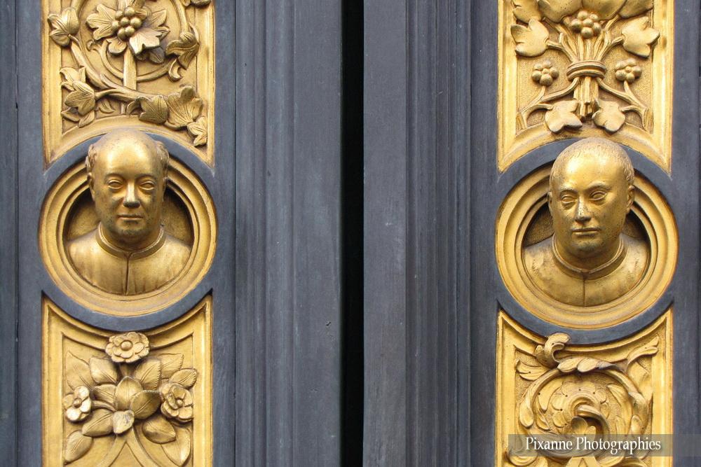 Europe, Italie, Florence, Baptistère Saint Jean, Porte du Paradis, Lorenzo Ghiberti, Souvenirs de Voyages, Pixanne Photographies