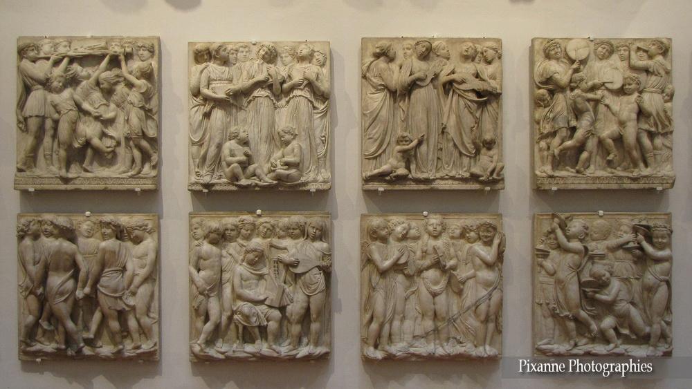 Europe, Italie, Florence, Muséo dell'Opéra del Duomo, Cantories, Lucca della Robia, Souvenirs de Voyages, Pixanne Photographies