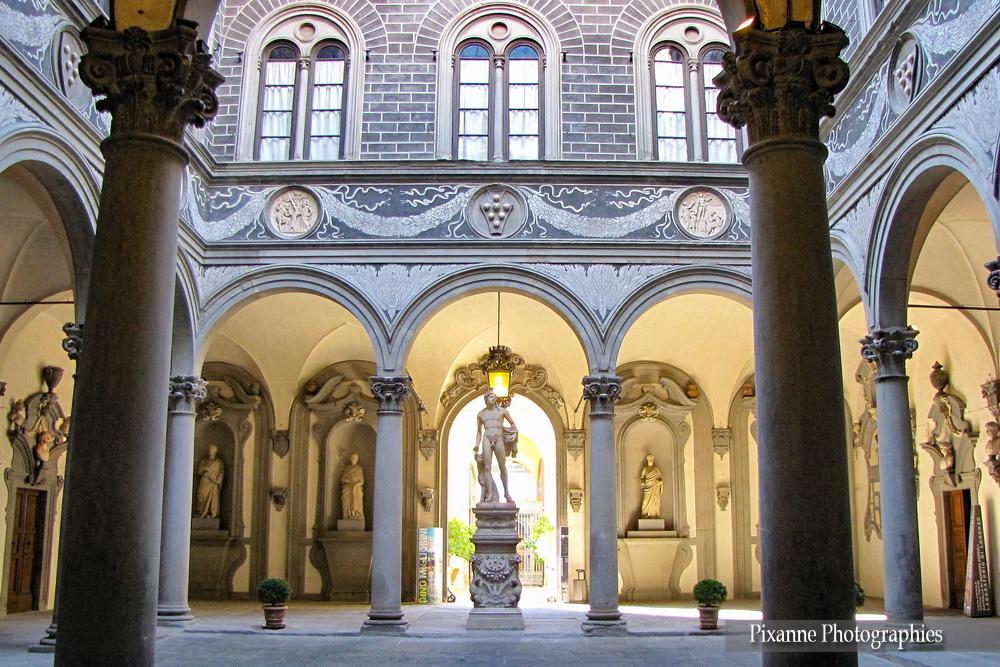 Europe, Italie, Florence, Palazzo Medici Riccardi, Souvenirs de Voyages, Pixanne Photographies
