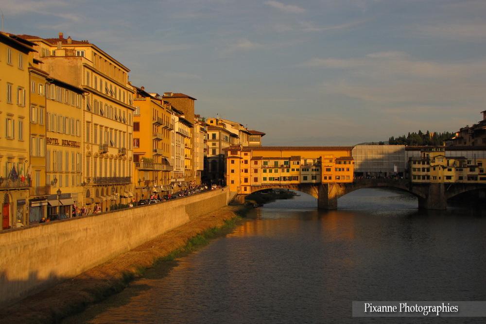 Europe, Italie, Florence, Ponte Vecchio, Liberté, Souvenirs de Voyages, Pixanne Photographies