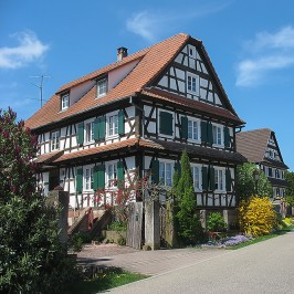 Streisselhochzeit * Le village de Seebach