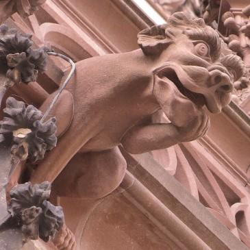 Strasbourg  – Les Gargouilles de la Cathédrales
