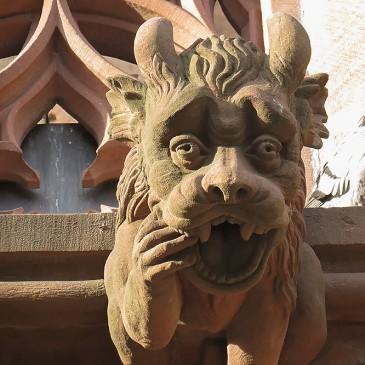 Strasbourg * Les Gargouilles de la Cathédrale (Art 2)