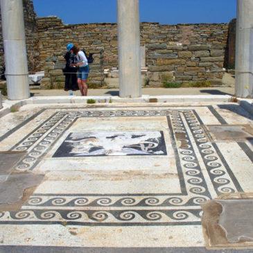 Délos – La maison de Dionysos