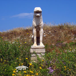Iles des Cyclades – Delos – Les Lions