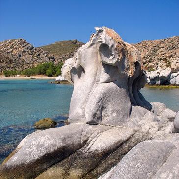 Iles des Cyclades – Paros – Plage de Kolymbithres